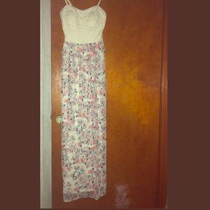 Lily Rose summer maxi dress
